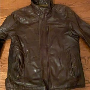 Andrew W Marc leather Men's Jacket